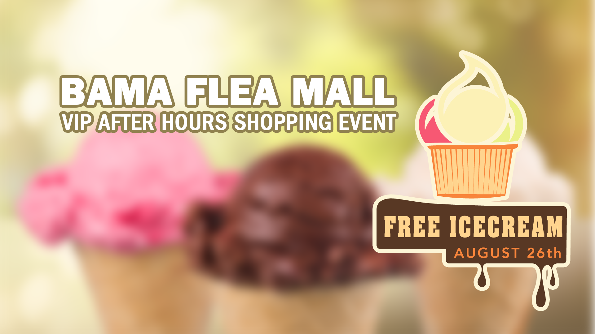 VIP Ice cream event